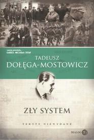 okładka Zły system, Ebook | Tadeusz Dołęga-Mostowicz