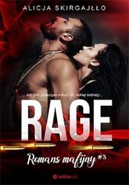 okładka Rage Romans mafijny, Książka | Alicja Skirgajłło