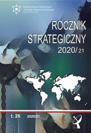 okładka Rocznik Strategiczny 2020/21 Tom 26, Książka |