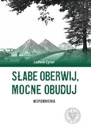 okładka Słabe oberwij mocne obuduj Wspomnienia, Książka   Cyran Ludwik