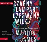 okładka Czarny Lampart, Czerwony Wilk, Audiobook   Marlon James