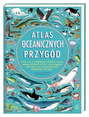 okładka Atlas oceanicznych przygód, Książka | Emily Hawkins