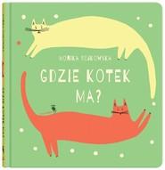 okładka Gdzie kotek ma?, Książka | Monika Rejkowska
