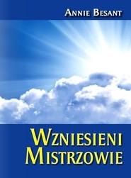 okładka Wzniesieni Mistrzowie, Książka   Besant Annie