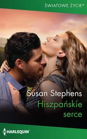 okładka Hiszpańskie serce, Książka | Susan Stephens