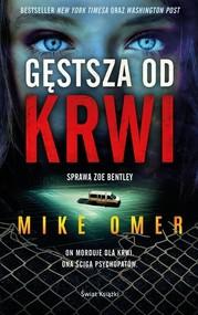 okładka Gęstsza od krwi, Książka   Omer Mike