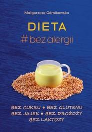 okładka Dieta # bez alergii, Książka   Górnikowska Małgorzata