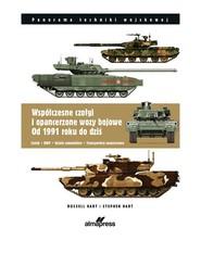 okładka Współczesne czołgi i pojazdy opancerzone od 1991 do dzisiaj C zołgi, BWP, działa samobieżne, transportery opancerzone, Książka | Russel Hart, Stephen Hart