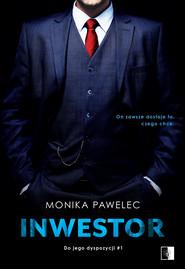 okładka Inwestor. , Ebook   Monika  Pawelec