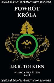 okładka Władca Pierścieni Tom 3 Powrót króla, Książka   J.R.R. Tolkien