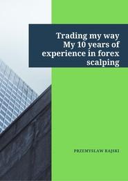 okładka Trading my way., Ebook   Przemysław  Rajski
