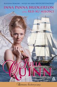 okładka Inna panna Bridgerton, czyli rejs ku miłości, Ebook   Julia Quinn