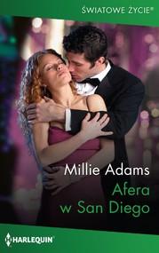 okładka Afera w San Diego, Ebook   Millie Adams