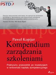 okładka Kompendium zarządzania szkoleniami, Ebook | Kopijer Paweł