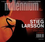okładka Dziewczyna, która igrała z ogniem, Audiobook | Stieg Larsson