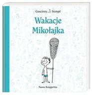 okładka Wakacje Mikołajka, Książka   René Goscinny, Jean-Jacques Sempé