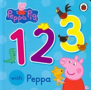 okładka Peppa Pig 123 with Peppa, Książka |