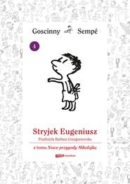okładka Stryjek Eugeniusz  z tomu Nowe przygody Mikołajka.  Minibook, Ebook   René Goscinny, Jean-Jacques Sempé