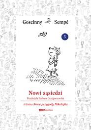 okładka Nowi sąsiedzi z tomu Nowe przygody Mikołajka.  Minibook, Ebook   René Goscinny, Jean-Jacques Sempé
