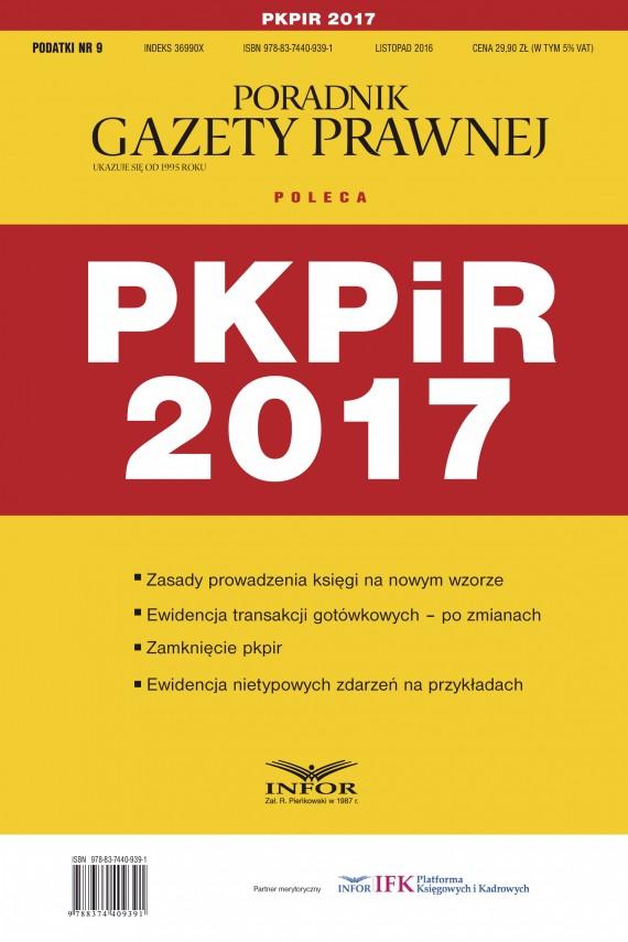 okładka Podatkowa Księga Przychodów i Rozchodów 2017ebook | PDF | Grzegorz Ziółkowski