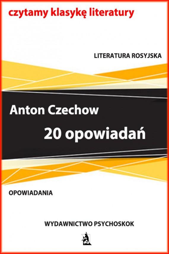 okładka 20 opowiadańebook | EPUB, MOBI | Anton Czechow