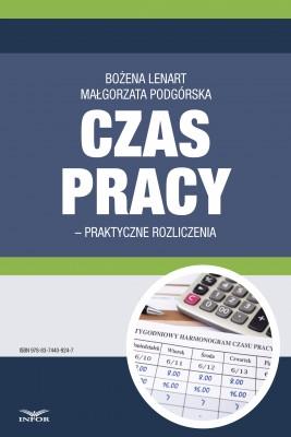 okładka Czas pracy – praktyczne rozliczenia, Ebook | Małgorzata Podgórska