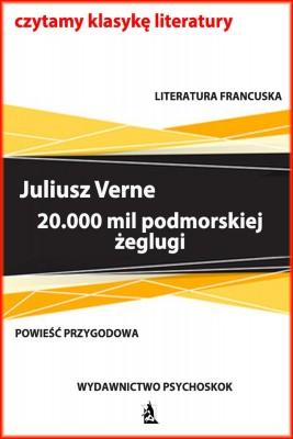okładka 20.000 mil podmorskiej żeglugi, Ebook | Juliusz Verne