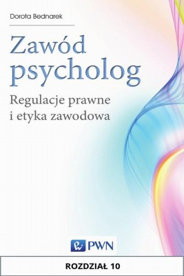 okładka Zawód psycholog. Rozdział 10, Ebook | Dorota  Bednarek