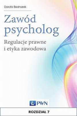 okładka Zawód psycholog. Rozdział 7, Ebook | Dorota  Bednarek