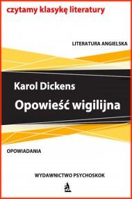 okładka Opowieść wigilijna. Ebook | EPUB,MOBI | Karol  Dickens