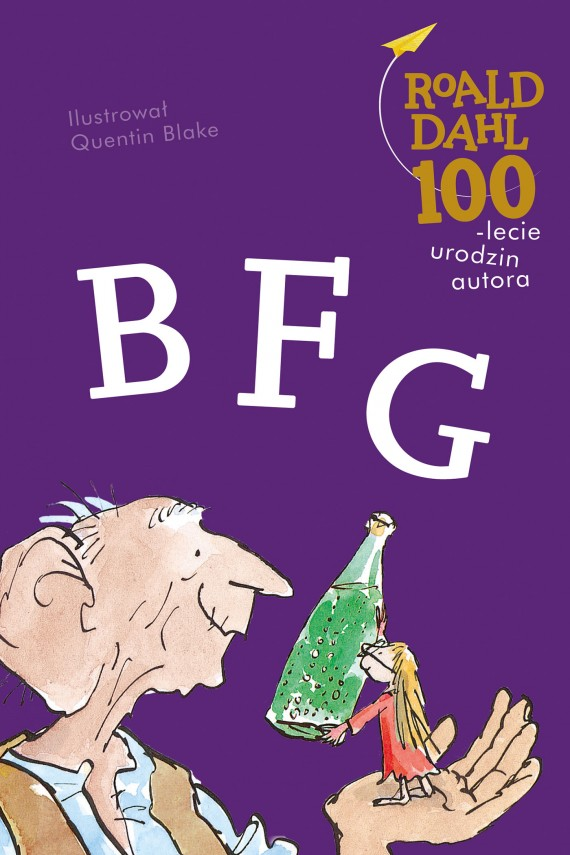 okładka BFG. Ebook | EPUB, MOBI | Roald Dahl