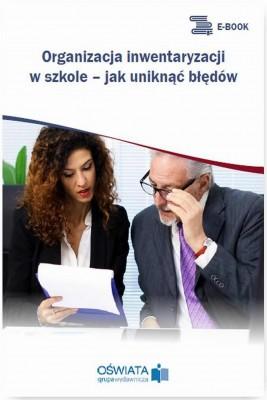 okładka Organizacja inwentaryzacji w szkole – jak uniknąć błędów, Ebook | Barbara  Jarosz