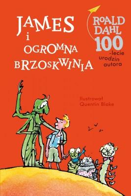 okładka James i ogromna brzoskwinia, Ebook | Roald Dahl