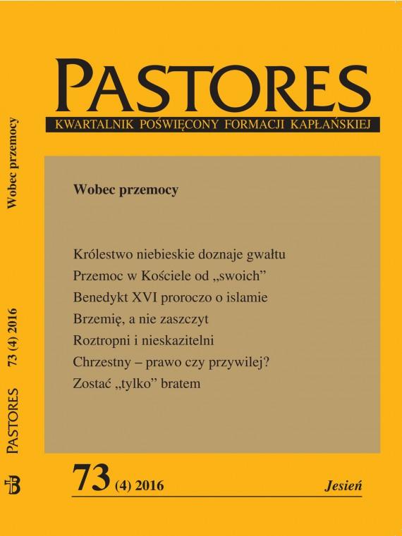 okładka Pastores 73 (4) 2016. Ebook | EPUB, MOBI | Zespół Redakcyjny