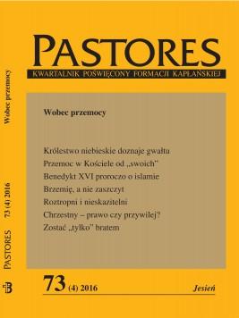 okładka Pastores 73 (4) 2016, Ebook   Zespół Redakcyjny