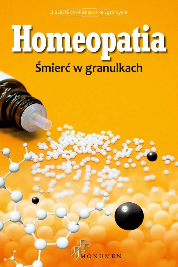 okładka Homeopatia. Śmierć w granulkach. Ebook | EPUB, MOBI | Praca zbiorowa