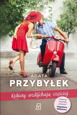 okładka Kobiety wzdychają częściej, Ebook | Agata Przybyłek