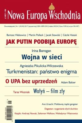 okładka Nowa Europa Wschodnia 1/2017, Ebook | Autor zbiorowy Autor zbiorowy