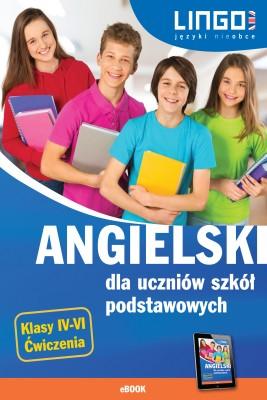 okładka Angielski dla uczniów szkół podstawowych. eBook, Ebook | Joanna Bogusławska