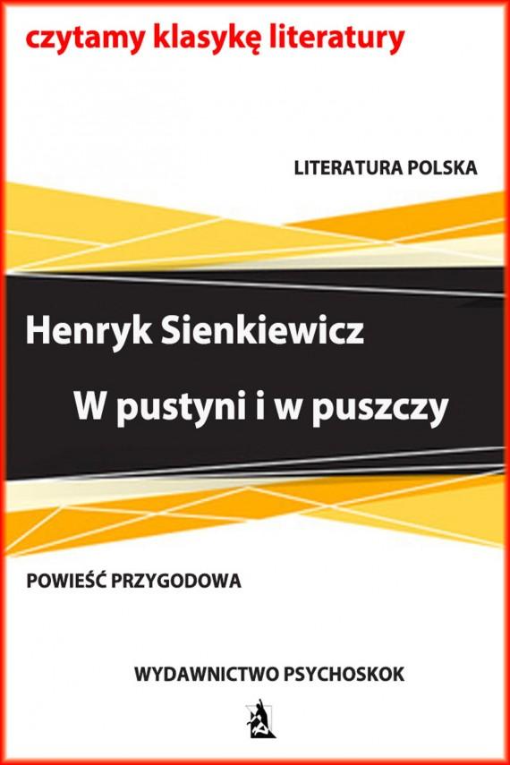 okładka W pustyni i w puszczyebook | EPUB, MOBI | Henryk Sienkiewicz