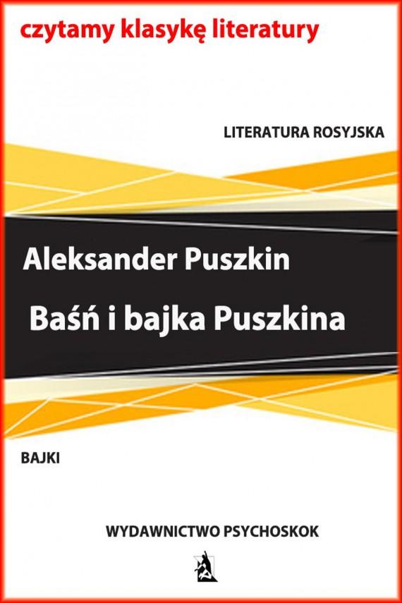 okładka Baśń i bajka Puszkinaebook | EPUB, MOBI | Aleksander Puszkin