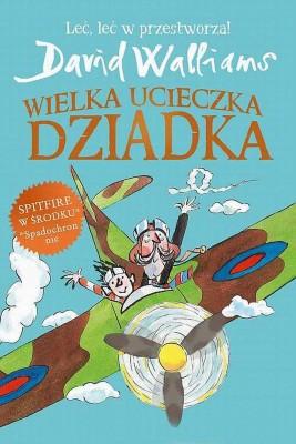 okładka Wielka ucieczka Dziadka, Ebook | David  Walliams