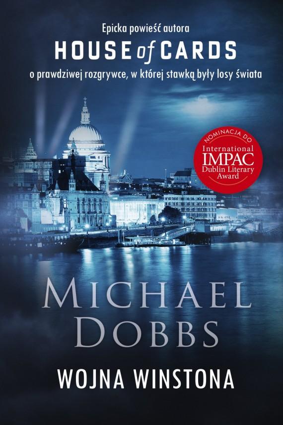 okładka Wojna Winstona. Ebook | EPUB, MOBI | Michael Dobbs