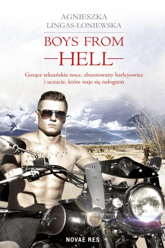 okładka Boys from Hellebook | EPUB, MOBI | Agnieszka Lingas-Łoniewska