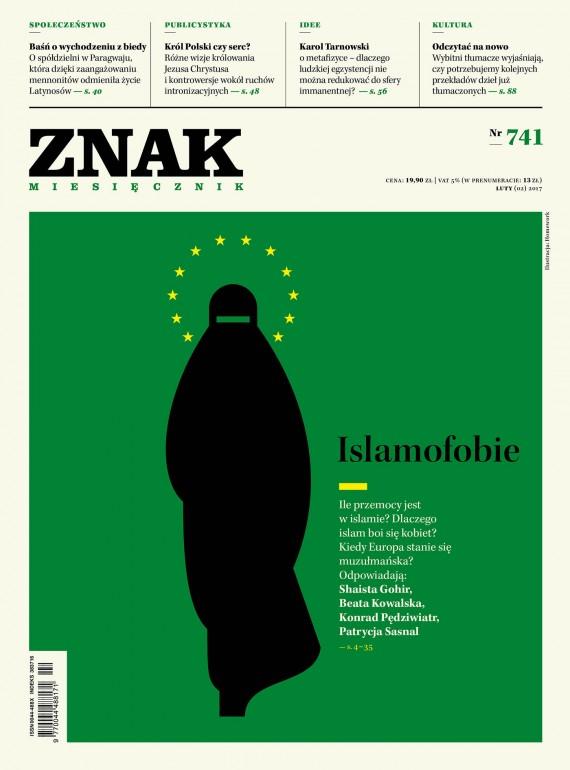okładka ZNAK Miesięcznik nr 741: Islamofobie. Ebook | EPUB, MOBI | autor  zbiorowy
