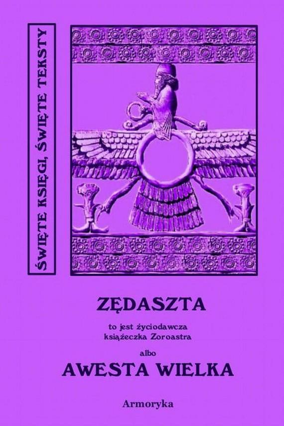 okładka Awesta Wielka. Ebook | PDF | Nieznany, Ignacy  Pietraszewski