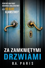 okładka Za zamkniętymi drzwiami. Ebook | papier | Janusz Ochab, B.A. Paris