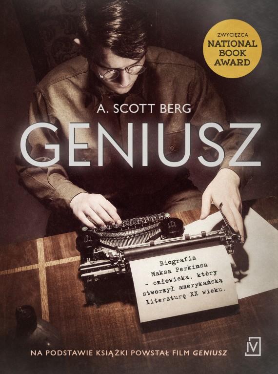 okładka Geniusz. Ebook | EPUB, MOBI | A. Scott  Berg