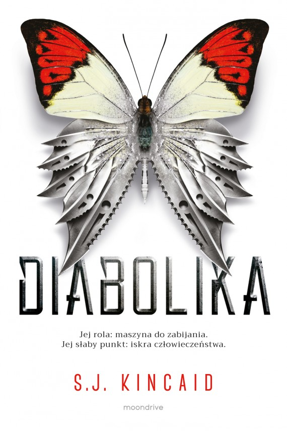 okładka Diabolika. Ebook | EPUB, MOBI | S.J. Kincaid