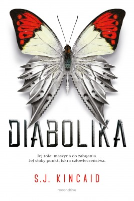 okładka Diabolika, Ebook | S.J. Kincaid